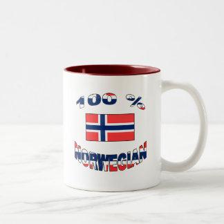 100% Norwegian Mugs