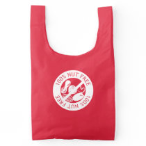 100% Nut Free Customized Color Nut Allergy Reusable Bag