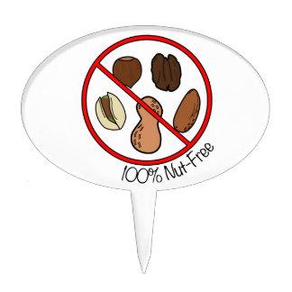 100% Nut Free (Tree nuts & Peanuts) Cake Topper