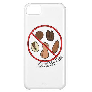 100% Nut Free (Tree nuts & Peanuts) iPhone 5C Cases