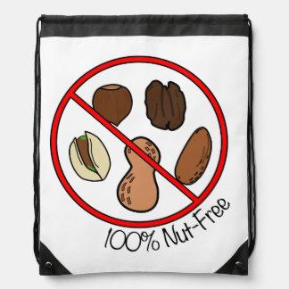100% Nut Free (Tree Nuts & Peanuts) Cinch Bag