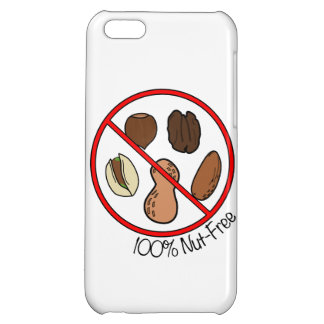 100% Nut Free (Tree Nuts & Peanuts) Cover For iPhone 5C