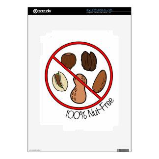 100 Nut Free Tree nuts Peanuts iPad 2 Skins