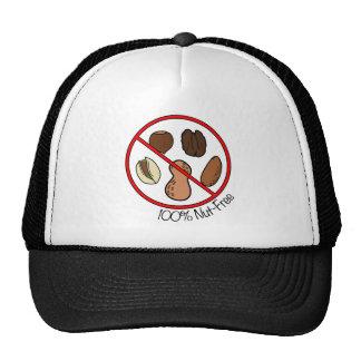100% Nut Free (Tree nuts & Peanuts) Trucker Hat