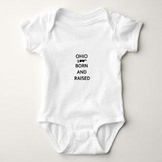 100% Ohio Born and Raised Infant Creeper