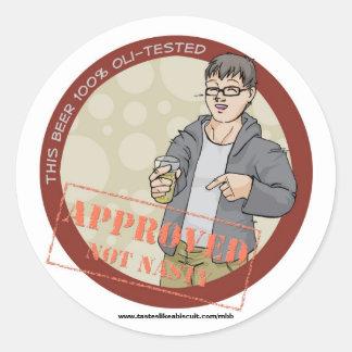 100% Oli-Approved Sticker