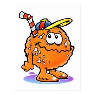 100 % Orange... juice Postcard