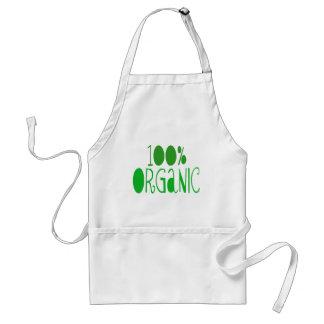 100% organic apron