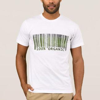 100% Organic Bar Code T-Shirt