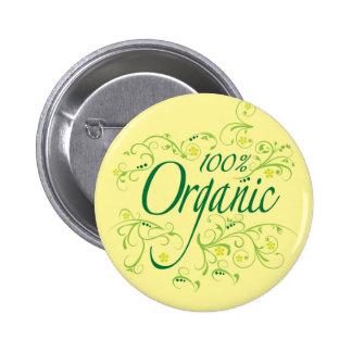 100% Organic Pin