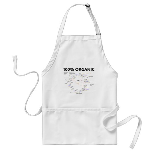 100% Organic (Citric Acid Cycle - Krebs Cycle) Adult Apron