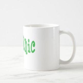 100% organic coffee mug