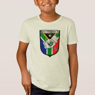 100% Organic cotton South Africa soccer t-shirt