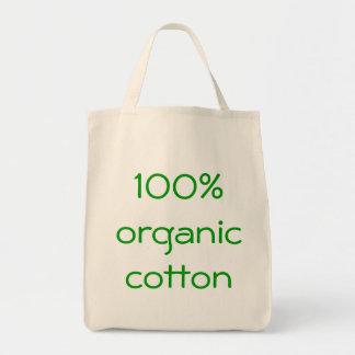 100% organic cotton tote bag