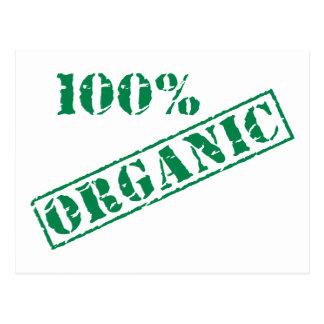 100% ORGANIC Earth Day Postcard