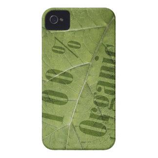 100% organic iPhone 4 cover
