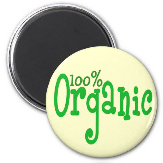 100% organic refrigerator magnet