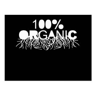 100 Organic T-shirt Post Card