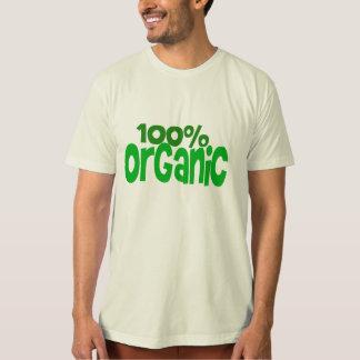 100% organic tee shirt