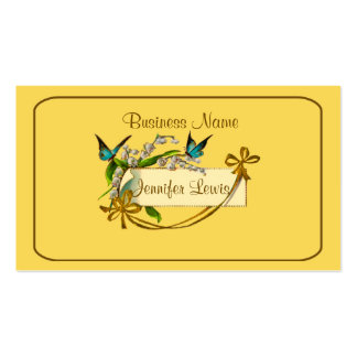 100 Original Personalized Vintage Personal Cards
