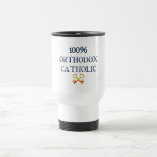 100% Orthodox Catholic Travel Mug
