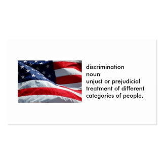 100-pack ANTI-DISCRIMINATION Cards