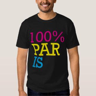 100% paris T-Shirt