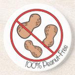 100% Peanut Free Coasters