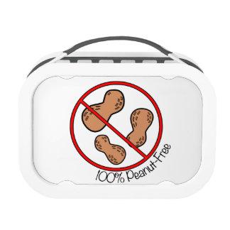 100% Peanut Free Lunch Box