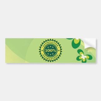 100% pegatina garantizado satisfacción pegatina para auto