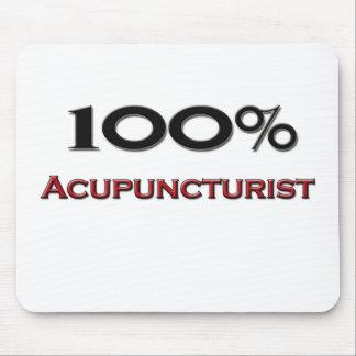 100 Percent Acupuncturist Mousepads