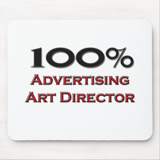 100 Percent Advertising Art Director Mouse Pad