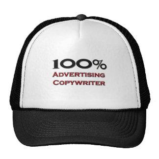 100 Percent Advertising Copywriter Trucker Hat