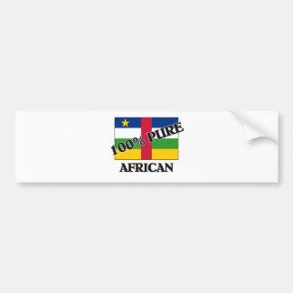 100 Percent AFRICAN Bumper Sticker