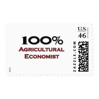 100 Percent Agricultural Economist Stamp
