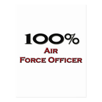 100 Percent Air Force Officer Postcards