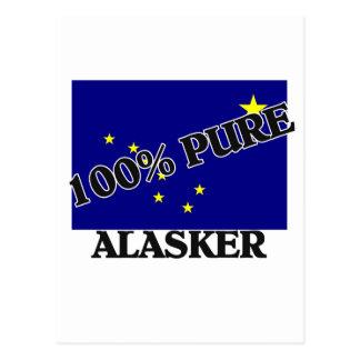 100 Percent Alasker Postcard