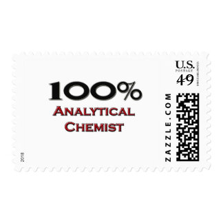 100 Percent Analytical Chemist Stamps