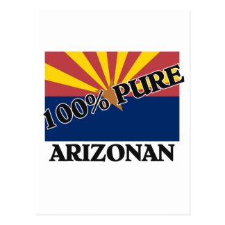 100 Percent Arizonan Post Card