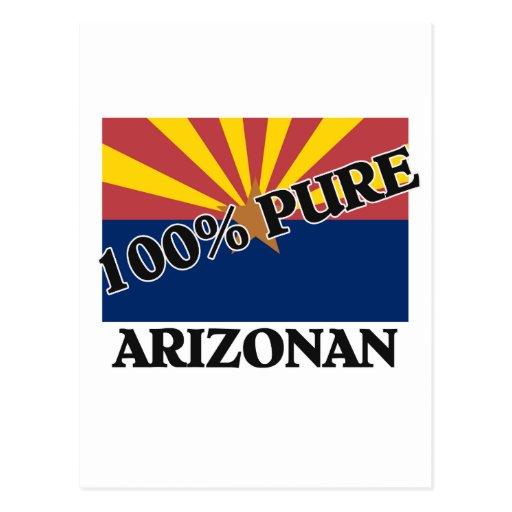 100 Percent Arizonan Postcard