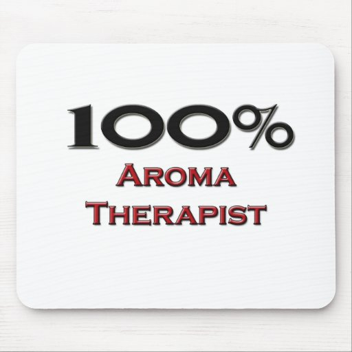 100 Percent Aroma Therapist Mouse Pad