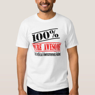 100 percent Awesome Shirt