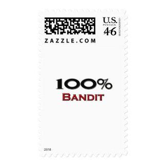 100 Percent Bandit Postage Stamps