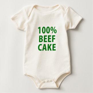 100 Percent Beef Cake Romper