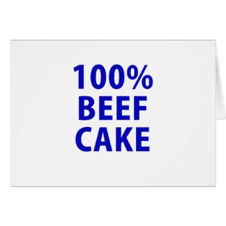 100 Percent Beefcake Card