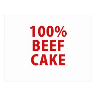100 Percent Beefcake Post Card