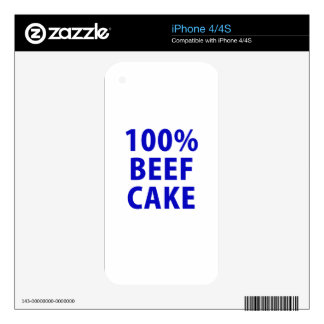 100 Percent Beefcake Skins For iPhone 4S