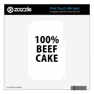 100 Percent Beefcake Decal For iPod Touch 4G