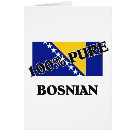 100 Percent BOSNIAN Card