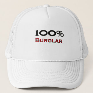 100 Percent Burglar Trucker Hat